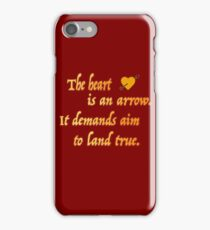 Six of Crows quote iPhone Case/Skin