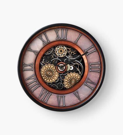 Vintage Steampunk Clock No.4 Clock