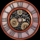 Vintage Steampunk Clock No.4 by Steve Crompton