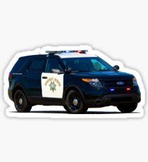 California Highway Patrol Sticker
