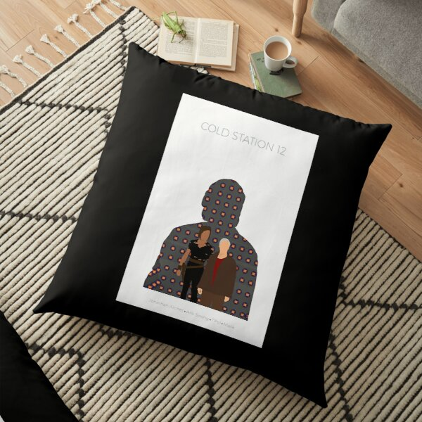 The Augments Trilogy  Cold Station 12 Poster  Floor Pillow