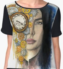Time Will Tell Chiffon Top