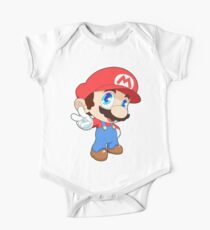 Super Smash Bros. Mario One Piece - Short Sleeve