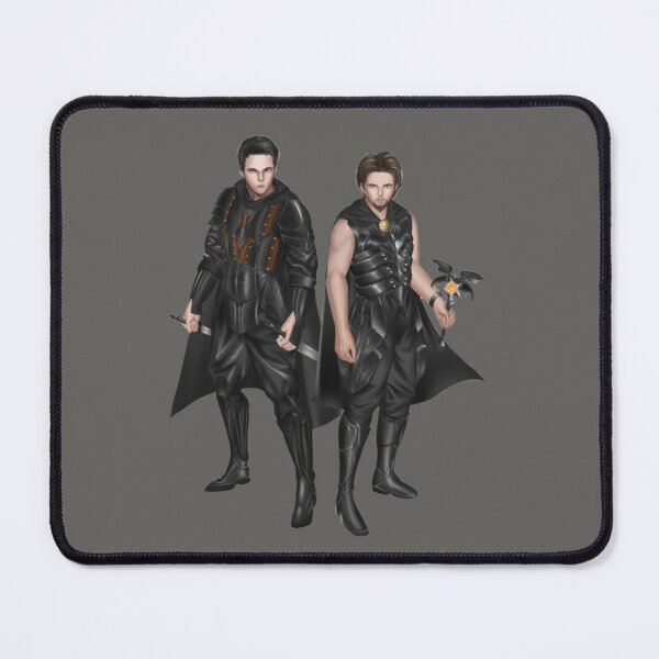 The Miscreant: Nika and Freyne no background Mouse Pad