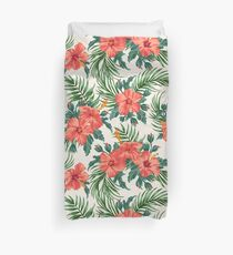 Tropical flowers-2 Duvet Cover