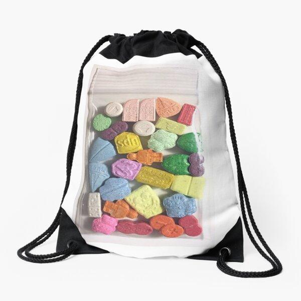 Zak snoep Drawstring Bag