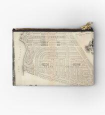 Vintage Map of Marthas Vineyard (1873) Studio Pouch