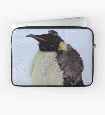 Molting Emperor Penguin Laptop Sleeve