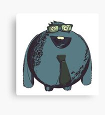 Business character Canvas Print