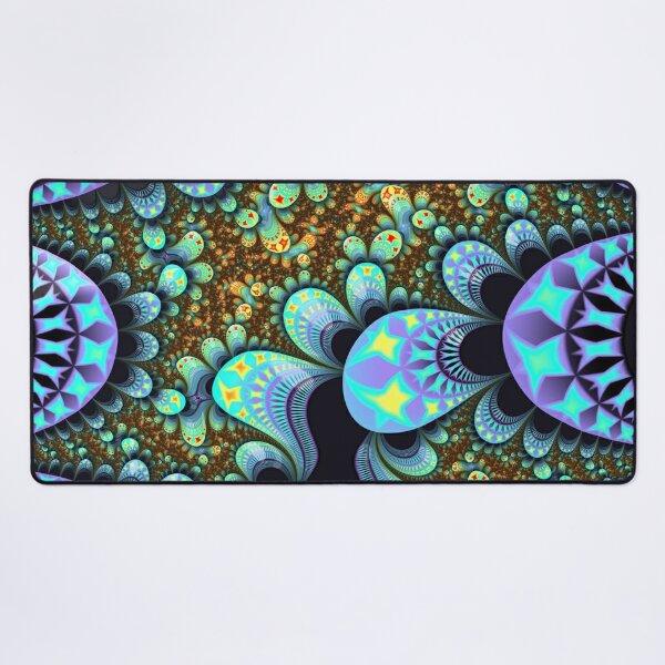 fractal pattern comforter | funny comfort Desk Mat