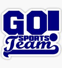 GO Sports Team Sticker