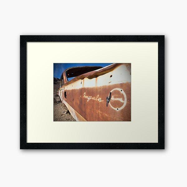 Desert Impala Framed Art Print