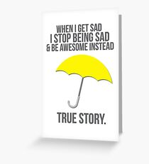 True Story Greeting Card