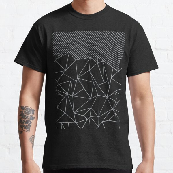 Ab Lines 45 Black and Grey Classic T-Shirt