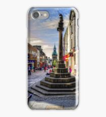 Dunfermline Mercat Cross iPhone Case/Skin