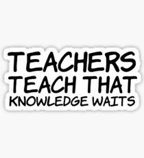 bob dylan education teacher professor rock lyrics hippie t shrits Sticker