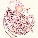 The Baby Armor Dragon by Heather Hitchman