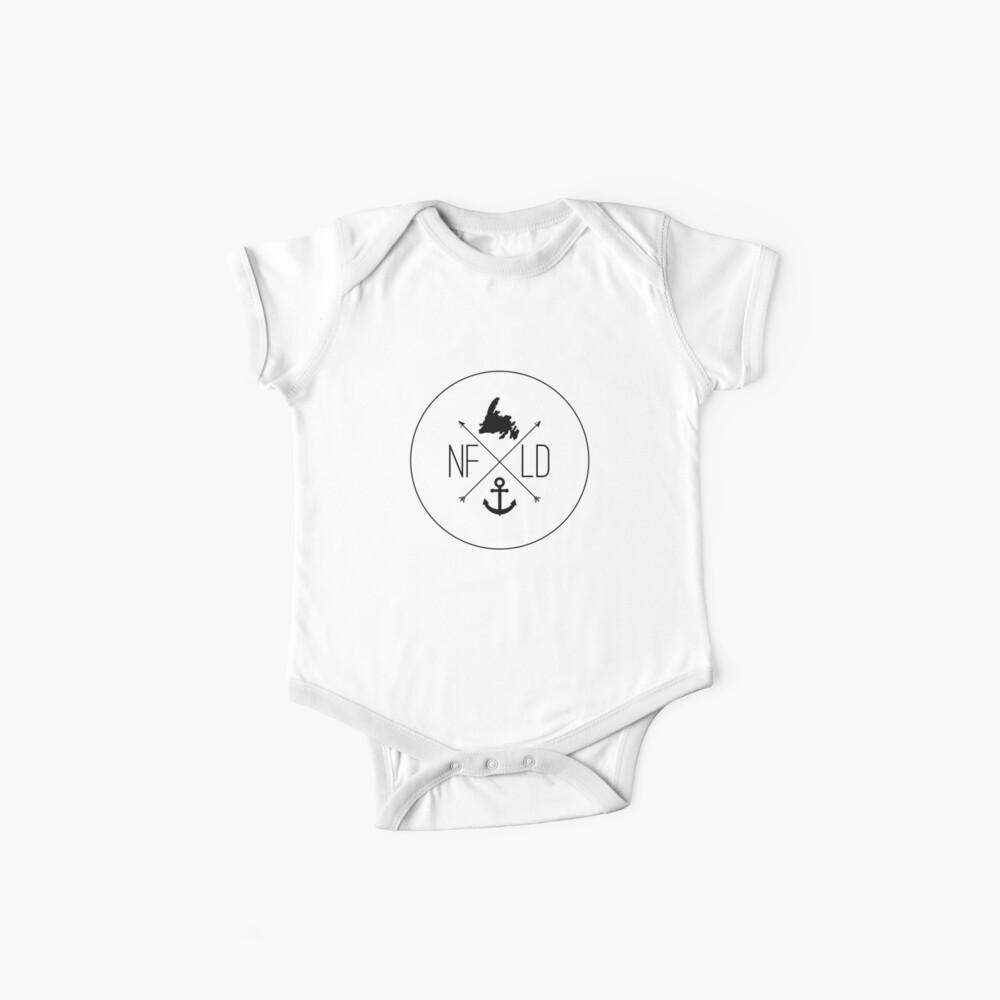 NFLD X Logo Weiß Baby Body