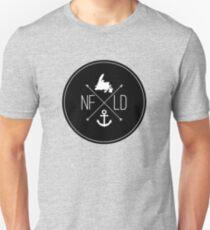 NFLD X Logo Black T-Shirt