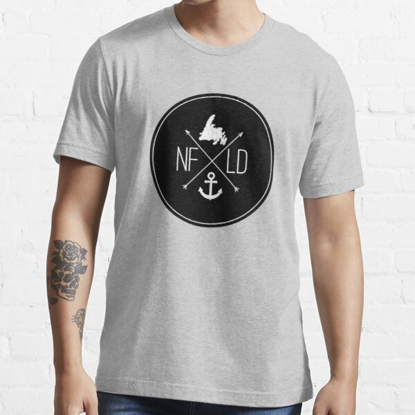 NFLD X Logo Black Essential T-Shirt