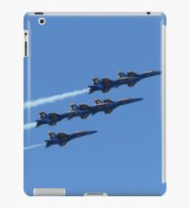 Blue Angels Over SF, 2015 iPad Case/Skin