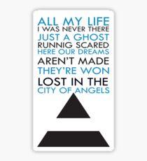 City Of Angel  Sticker