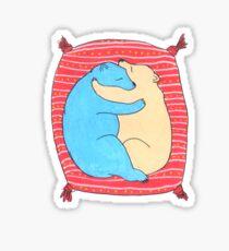 Bears In Love Sticker