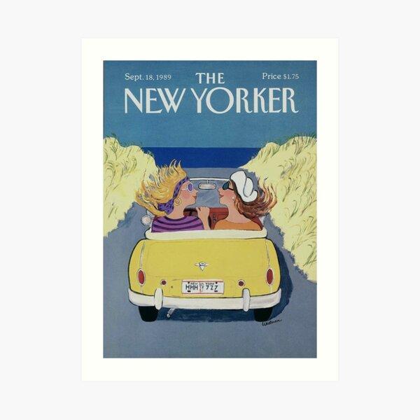 THE NEW YORKER COVER - SEPTEMBER 18TH, 1989 Art Print