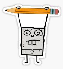 Spongebob- Doodlebob Sticker