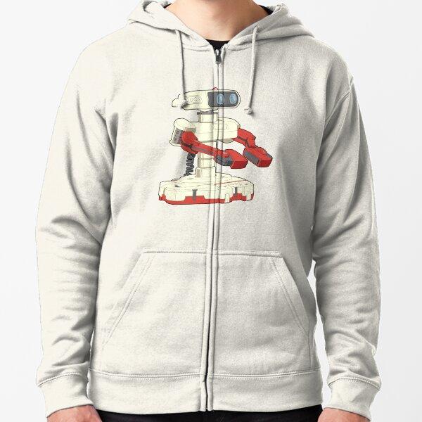 Super Smash Bros. ROB Zipped Hoodie