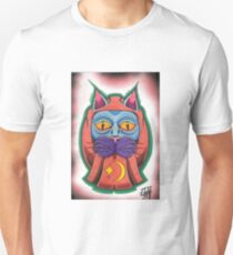 Lucky daruma cat Unisex T-Shirt