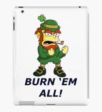 The Simpsons Leprechaun iPad Case/Skin