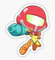 Super Smash Bros. Samus Sticker