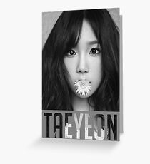 Taeyeon, 11:11 Greeting Card