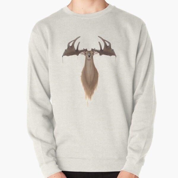 Megaloceros giganteus ( Irish elk / giant deer) Pullover Sweatshirt