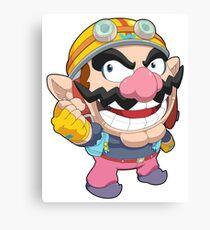 Super Smash Bros. Wario Canvas Print