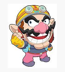 Super Smash Bros. Wario Photographic Print