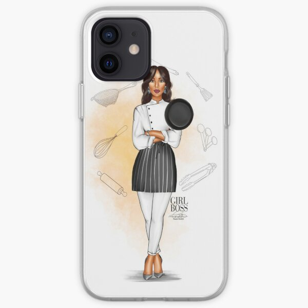 Girl Boss - The Chef iPhone Soft Case