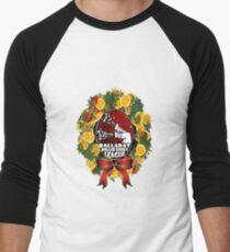 Merry Christmas from BRDL Baseball ¾ Sleeve T-Shirt