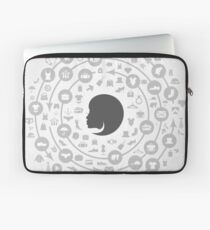 Clothes a circle Laptop Sleeve
