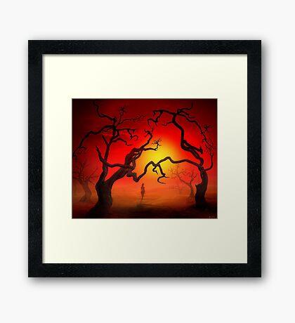 Eden Stroll Framed Print