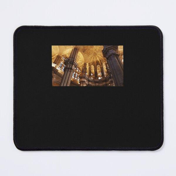 Golden Columns Premium Scoop Mouse Pad