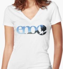 NH Eno Women's Fitted V-Neck T-Shirt