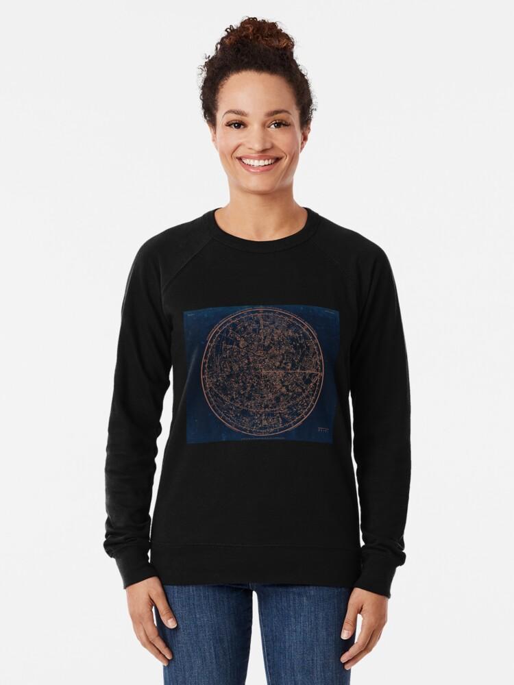Alternate view of Constellations of the Northern Hemisphere Lightweight Sweatshirt
