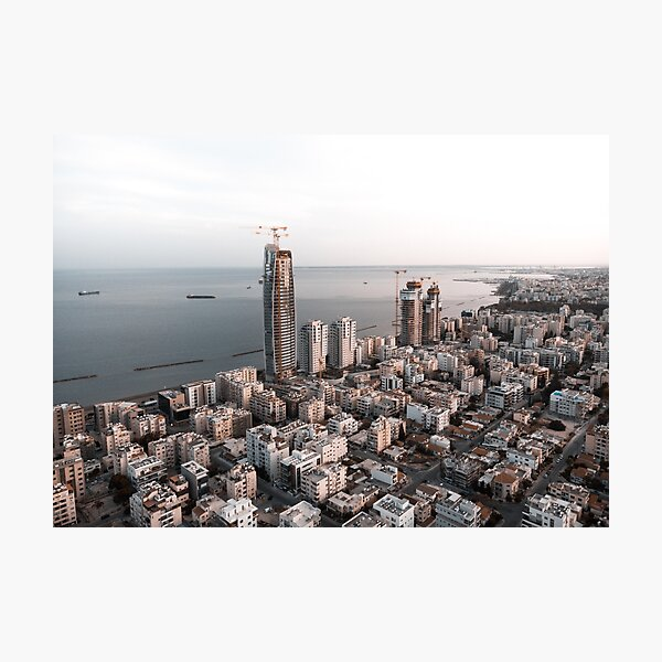 Limassol Skyline 2021 Photographic Print