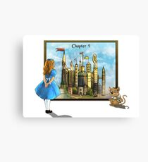 Chapter Nine: The Little Doll Girl Canvas Print
