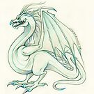 The Mighty Sea Wyvern Adolescent by Heather Hitchman