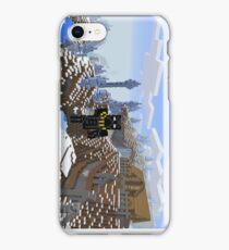Ice Spike Mountain House iPhone Case/Skin