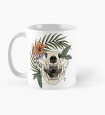 cool little bear skull Mug