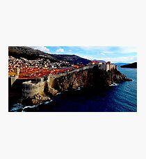 The Real King's Landing Photographic Print